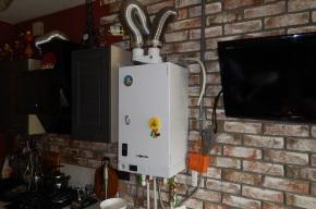 Пример непрофессионального монтажа газового котла Vitopend 100-W тип A1JB 24 кВт